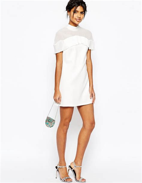 robe de mari 233 e courte minimaliste asos les plus belles - Asos Robe Blanche Courte