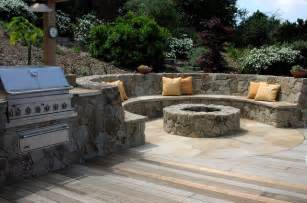 Outdoor Fireplace Pizza Oven - outdoor kitchens and fireplaces mediterranean patio san francisco by derviss design
