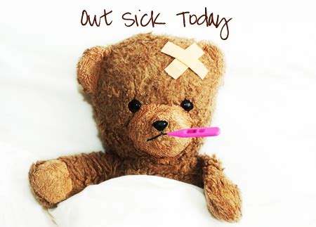 out sick today even mom needs a day off | the centsible