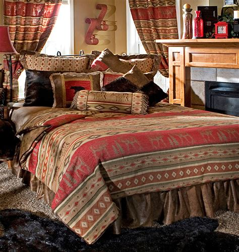 country blue comforter sets luxury rustic bedding and cabin bedding