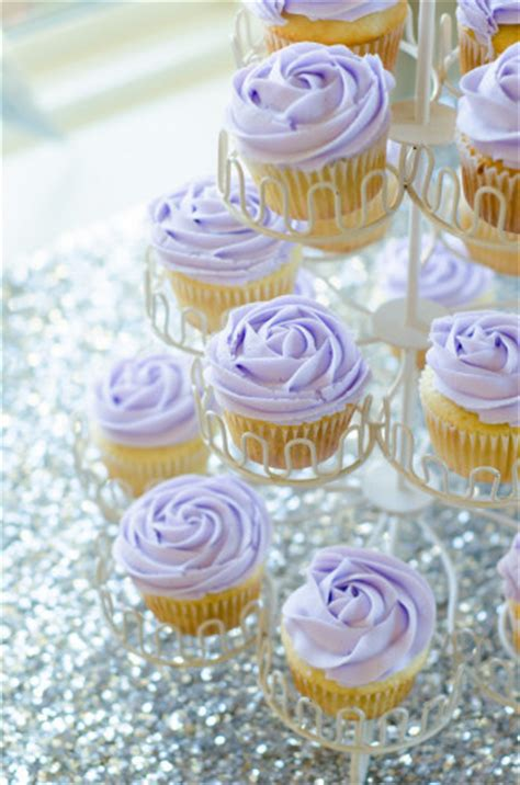 ideas for decorating cupcakes wedding shower purple and silver bridal shower ideas themes