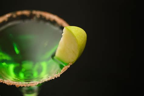 martini green how to a green apple martini 7 steps with pictures