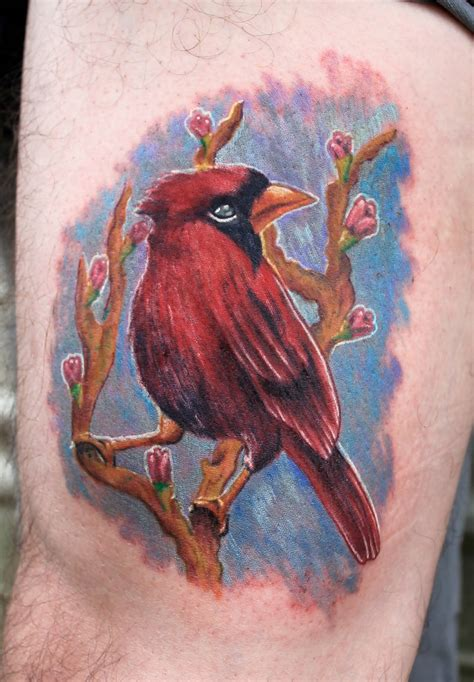 cardinal bird tattoo 43 wonderful cardinal tattoos