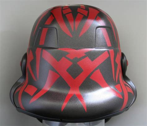 stormtrooper helmet tattoo sith empire stormtrooper helmet covered with sith tattoos