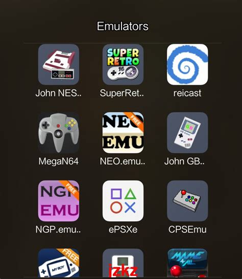 emulators pack  android  game ps psp roms