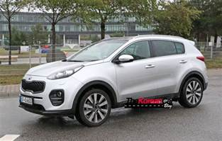 Pictures Of Kia Real Pictures Of 2016 Kia Sportage The Korean Car