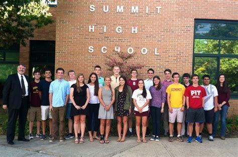 summit hs seniors named national merit scholarship