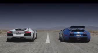 Lamborghini Bugatti Race Bugatti Veyron Vs Lamborghini Race Prestige Cars