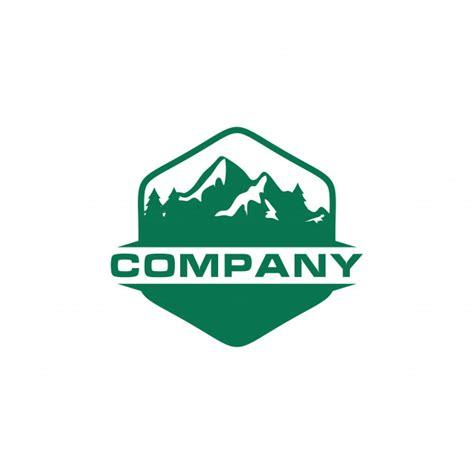 logo green mountain outdoor scaricare vettori premium