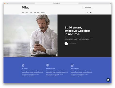 20 Best Multipurpose Html5 Css3 Website Templates 2018 Colorlib Information Web Template