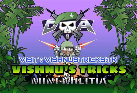mod game mini militia mini militia maga mod apk