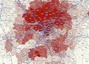 Atlanta Crime Map by Where Atlanta Braves Ticket Buyers Live