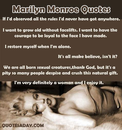 marilyn monroe quote top 10 marilyn monroe quotes quotesgram