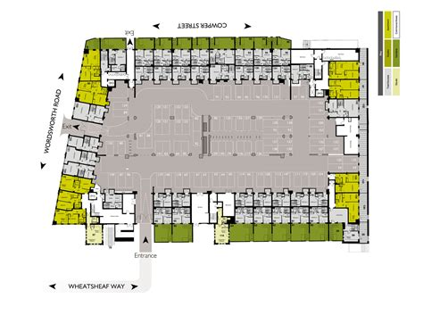 parking floor plan undercroft car park urban rhythm