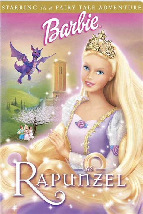 Film Barbie Rapunzel | barbie as rapunzel movie posters from movie poster shop