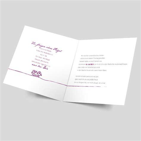 Hochzeitseinladungen Violett by Hochzeitseinladung Schriftreich Violett