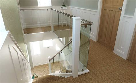 glass banister cost staircase style guide real homes