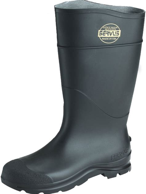Safety Low Boots River Black Rk483 servus
