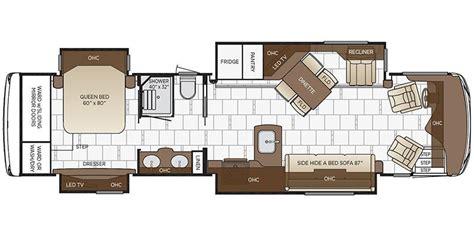 floor plans 2018 specs for 2018 newmar 3718 rvs rvusa