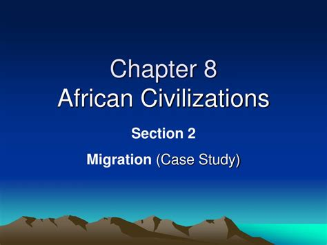 chapter ppt ppt chapter 8 civilizations powerpoint presentation id 398188