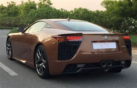 lexus brown this brown lexus lfa is just n380million you like