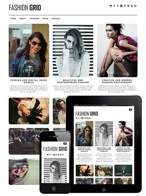 dessign fashion grid responsive wordpress theme v 1 2 1