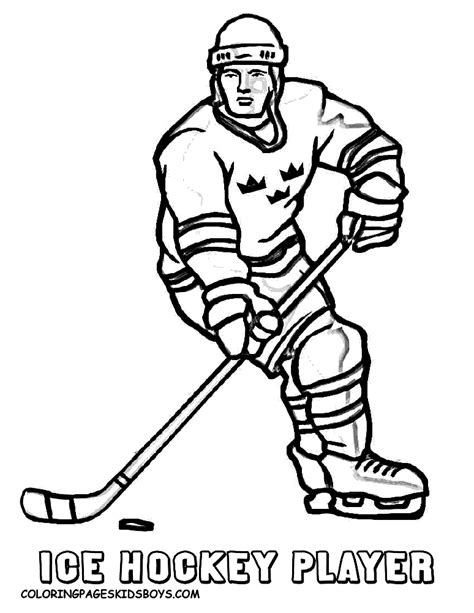 simple hockey coloring pages coloring pages hockey coloring home