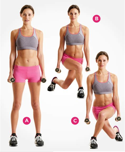 Bench Workouts by Free Weight Leg Lower Body Workout Tone And Tighten