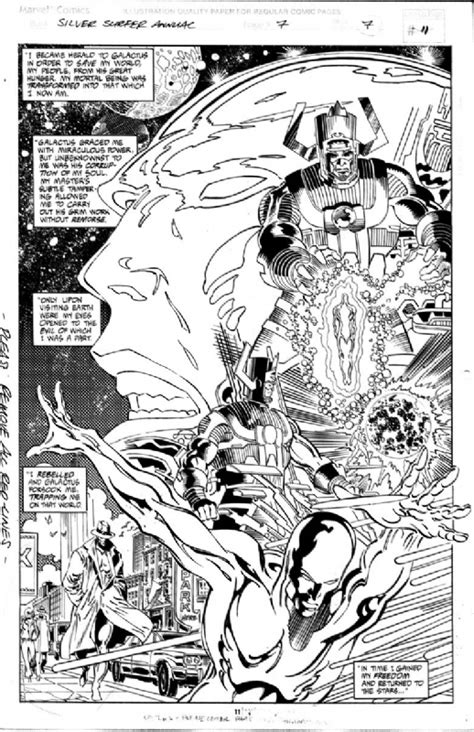 Silver Surfer (3rd Series) Annual 7 pg 7, in Dwayne Dush's