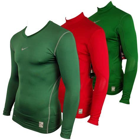 Baseslayer Nike Procombat Shirtsleeve mens nike pro combat hyperwarm sleeve top sports compression baselayer