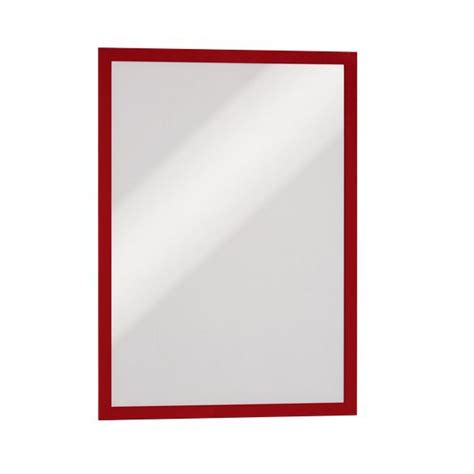 cornici adesive per pareti cornici adesive duraframe durable a3 rosso 4873 03