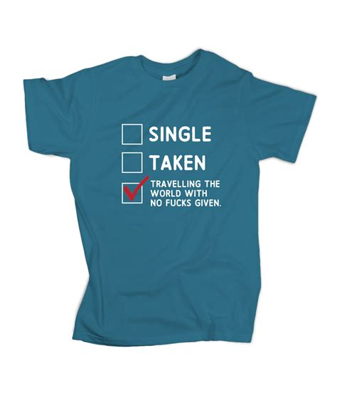 Traveler T Shirt single taken travelling t shirt travel bible shop