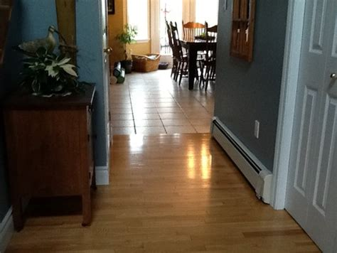 can you mix hardwood flooring in a house mixing hardwood and cork flooring
