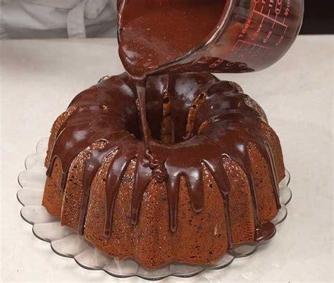 Chocolate Glaze glazed chocolate chip bundt cake chocolate chocolate