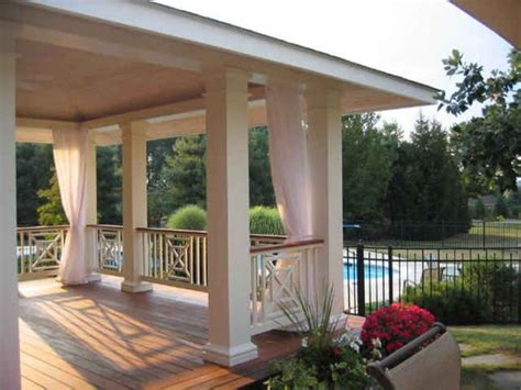 Outdoor Mesh Curtains Porch Screens Using Outdoor Mesh Curtains Attachment Options Outdoor Decor Porch