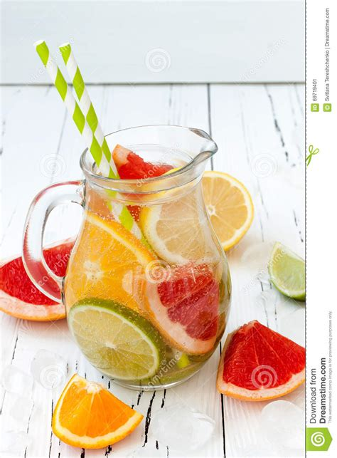 Grapefruit Orange Lemon Detox by Detox Citrus Infused Flavored Water Refreshing Summer