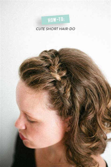 cute hairstyles braids short hair 12 pretty braided hairstyles for short hair pretty designs