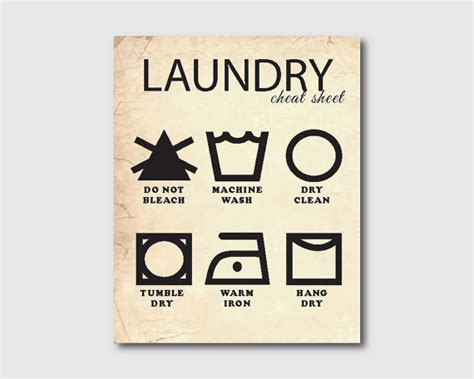 free printable laundry wall art laundry wall art laundry cheat sheet by susannewberrydesigns