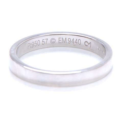 cartier platinum engagement ring 7 75