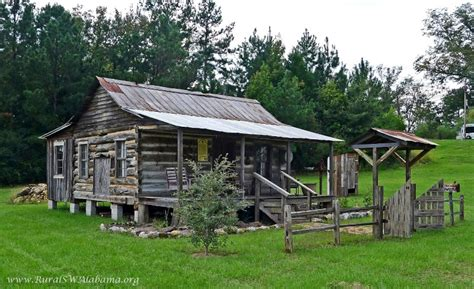 Cabins Alabama by Falkenberry Log Cabin At Peterman Al Built 1840s