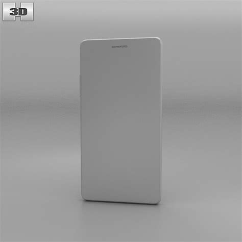 3d oppo neo 7 oppo neo 7 white 3d model humster3d
