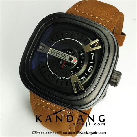 Jam Tangan Seven Friday Brown jam tangan sevenfriday m2 black brown jam tangan wanita