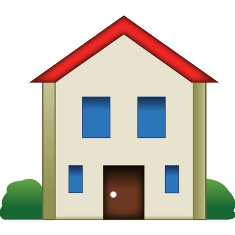 house emoji icon emoji island