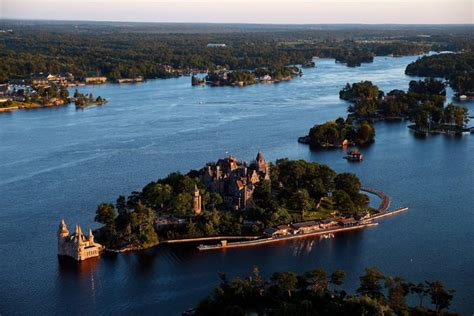 thousand islands in the thousand islands castles cliffs and contemplation the new york times