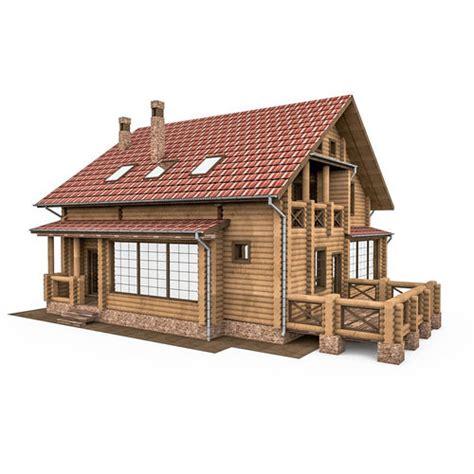 am093 circullar wooden house 3d european bar wood house cgtrader