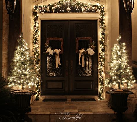 All Things Beautiful Christmas Porch Garland Front Door Garland