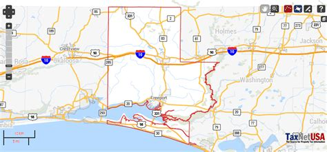Walton County Fl Property Records Walton County Florida Property Search And Interactive Gis Map