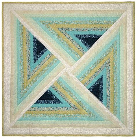 Illusion Quilt Pattern by Coastal Illusion Quilt 54 X 54 Quot At Quilt Broker