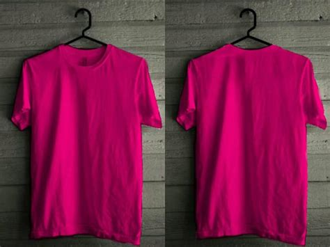 desain kaos warna pink rouf kaos polos warna warni tinggal desain sendiri