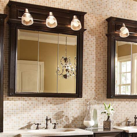 tri view  lights bathroom storage bertch cabinet